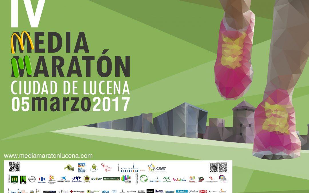 """IV MEDIA MARATÓN """"CIUDAD DE LUCENA"""""""