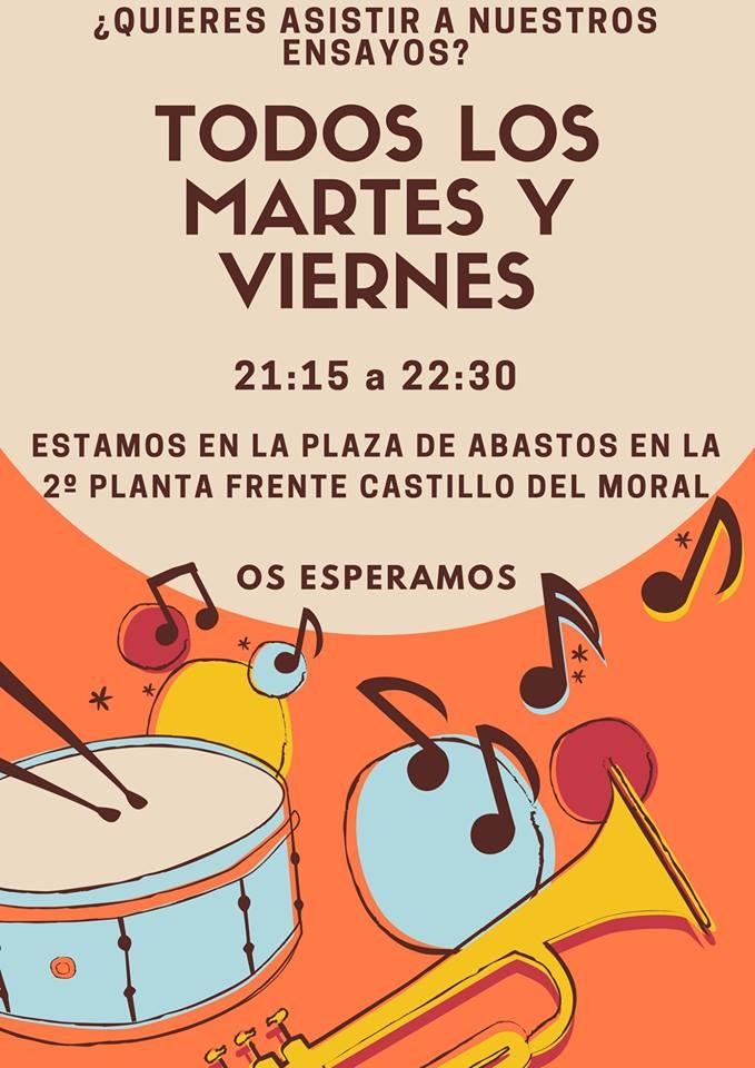 S. D. Musical Lucena . Asiste a nuestros ensayos @ Plaza de Abastos (2ª planta)