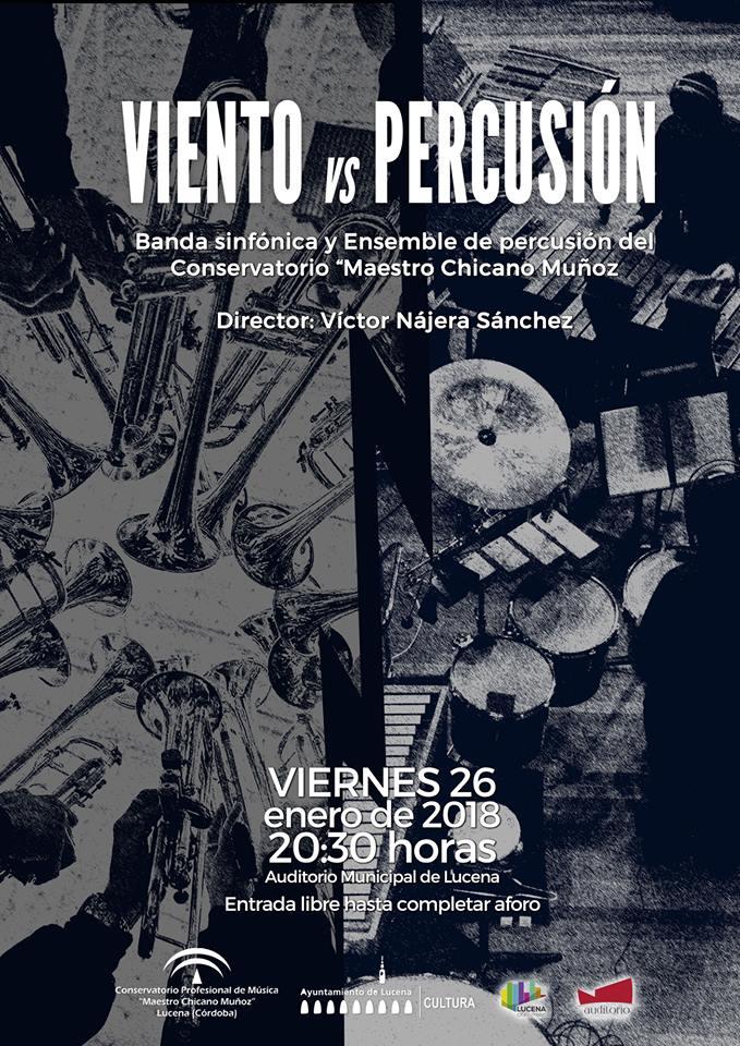 XIICulturaSin - Concierto: Viento versus Percusión @ Auditorio Municipal