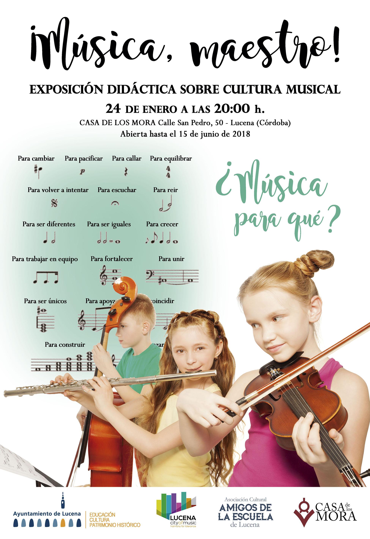 ¡Música, Maestro! @ Casa de los Mora