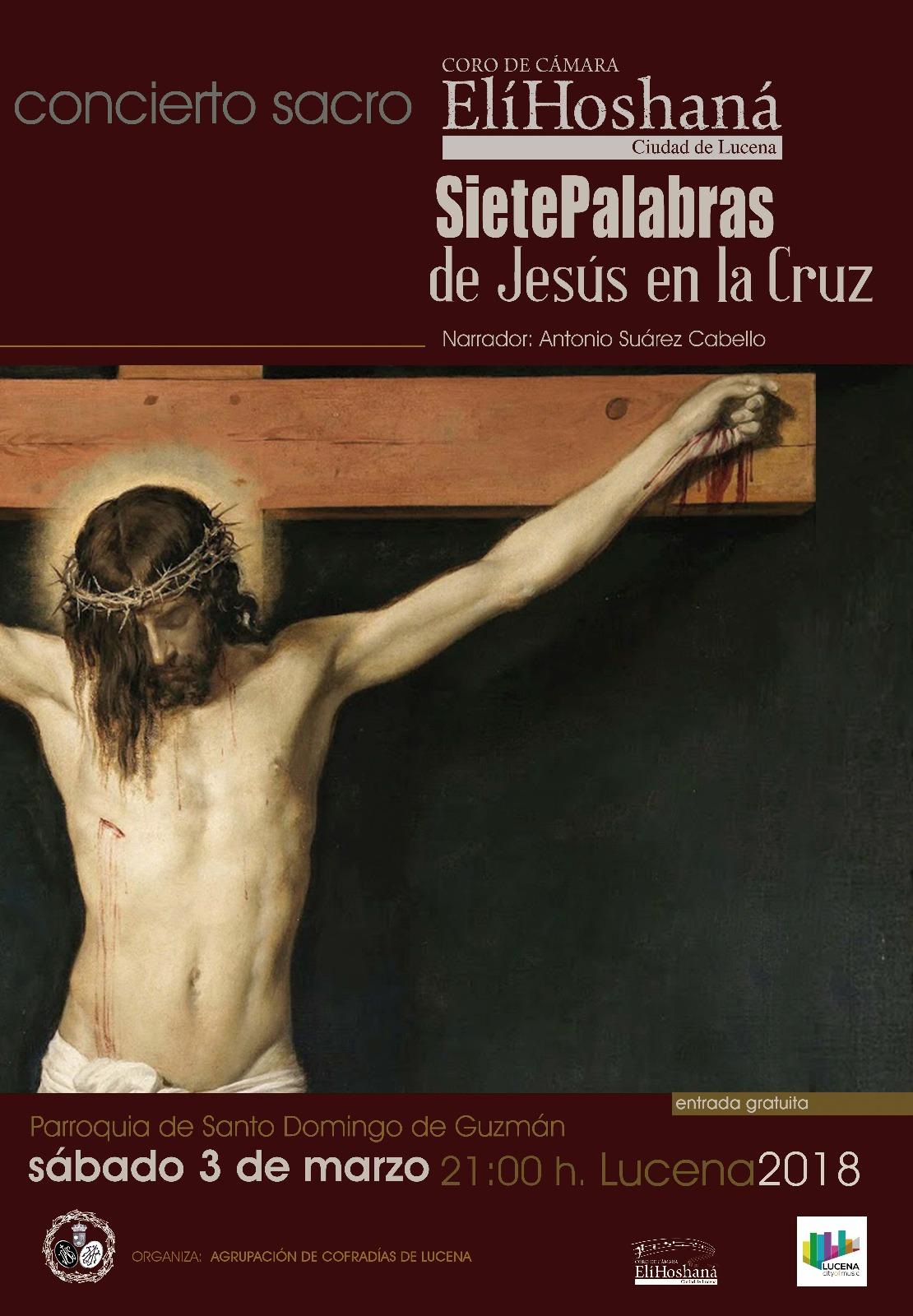 """7 palabras de Jesús en la cruz"" Concierto Sacro @ Iglesia Santo Domingo"