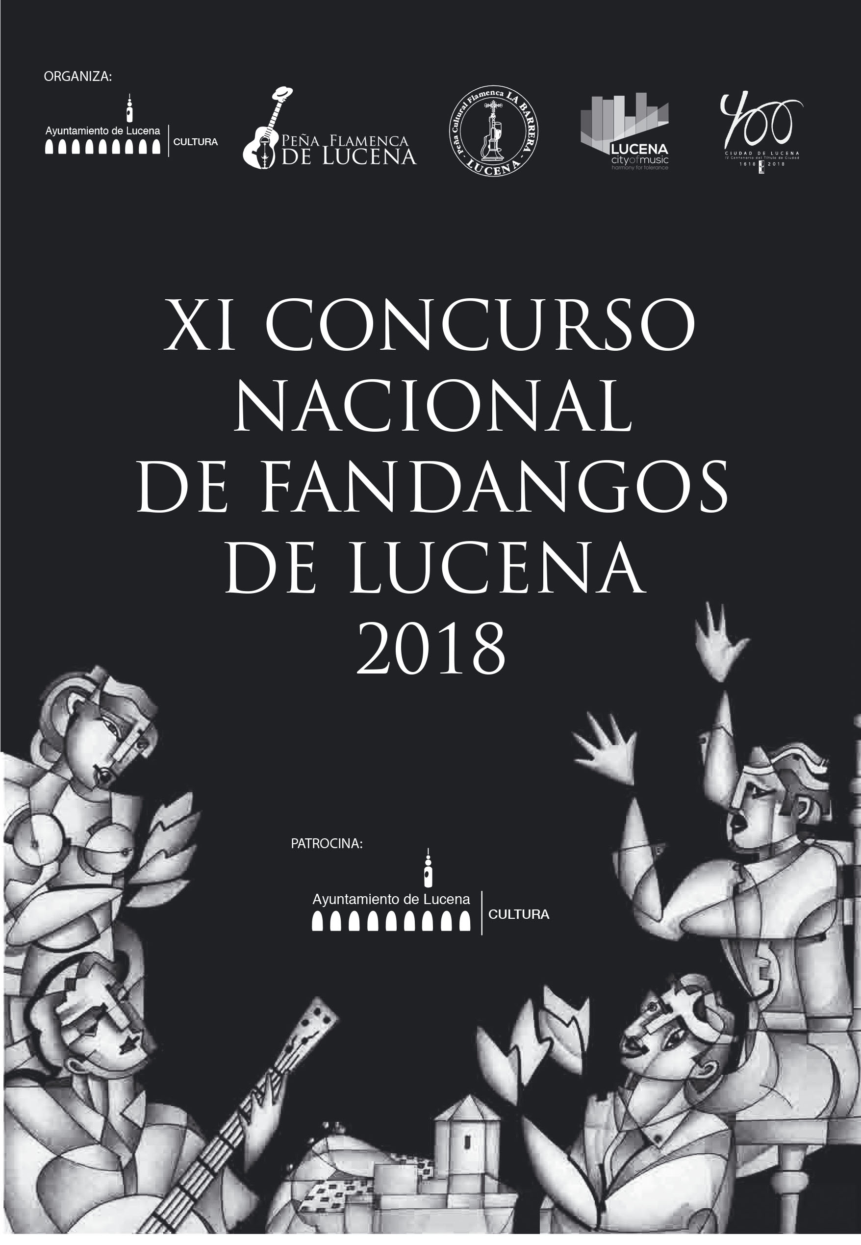 XI CONCURSO NACIONAL DE FANDANGOS DE LUCENA 2018 @ Casa de los Mora