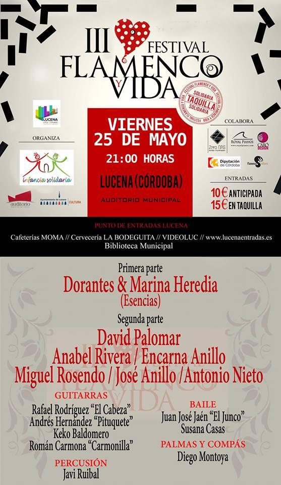 III FESTIVAL FLAMENCO Y VIDA @ Auditorio Municipal