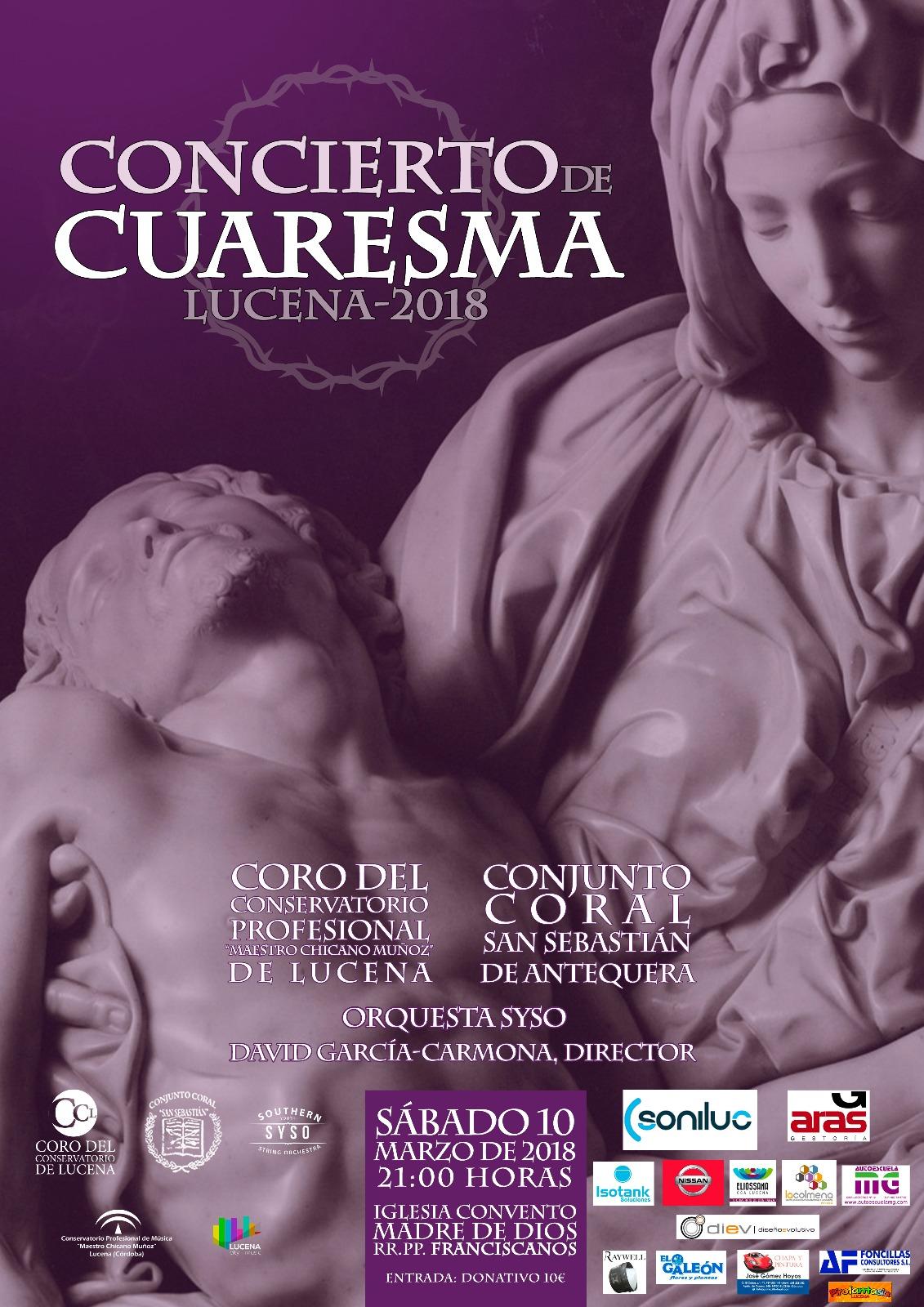 Concierto de Cuaresma @ Iglesia de los Padres Franciscanos
