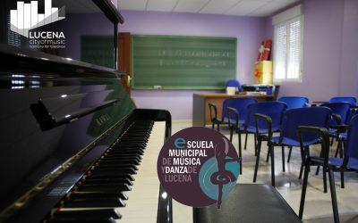 La Escuela Municipal de Música y Danza abrirá en julio el periodo de matriculación con una oferta de 400 plazas