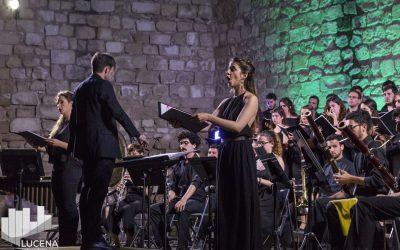 Joven Coro de Andalucía en el Castillo del Moral